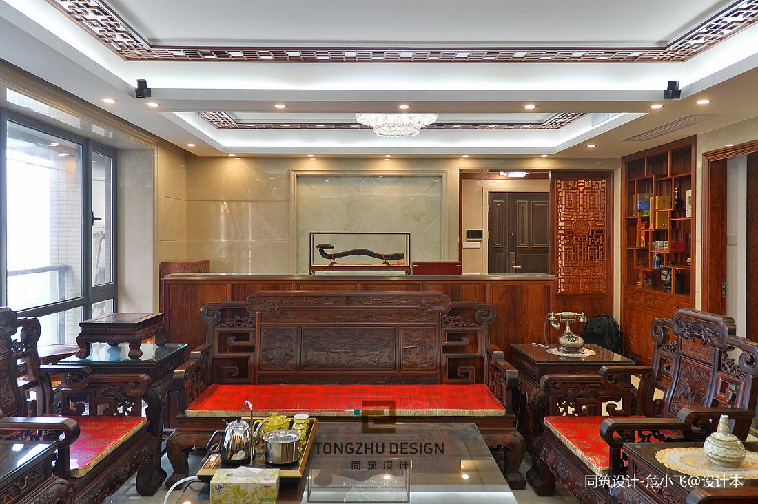 中式客廳家具擺設