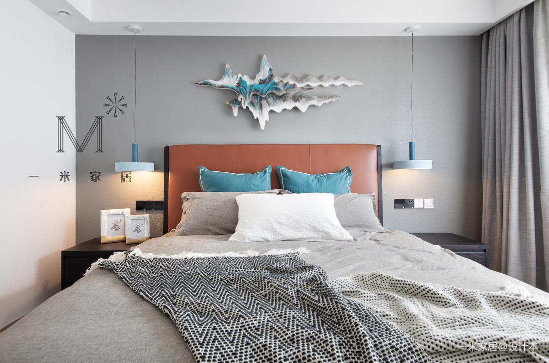 典雅63平北欧二居客厅设计案例