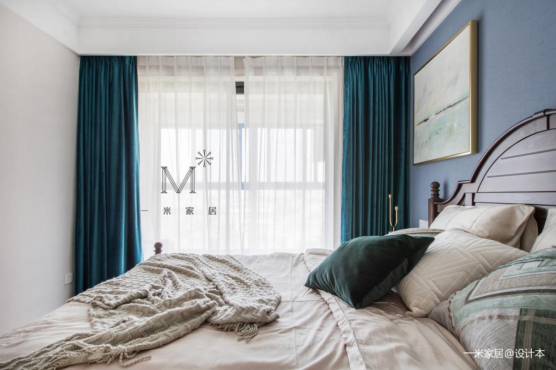 精美82平美式二居装潢图