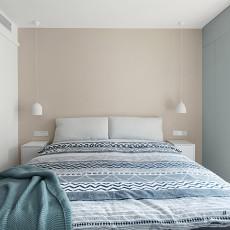 精美88平北欧三居卧室图片欣赏