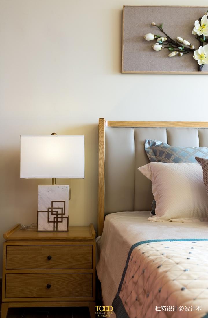 华丽110平中式三居卧室装饰图片