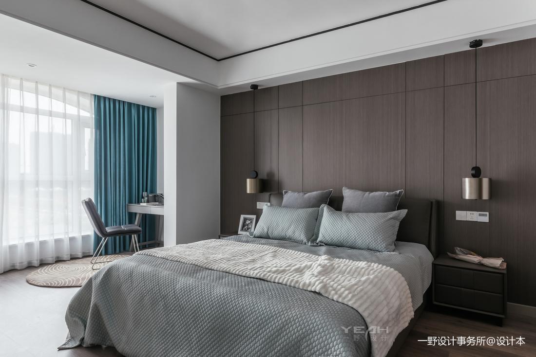 优美74平简约复式卧室装修图片