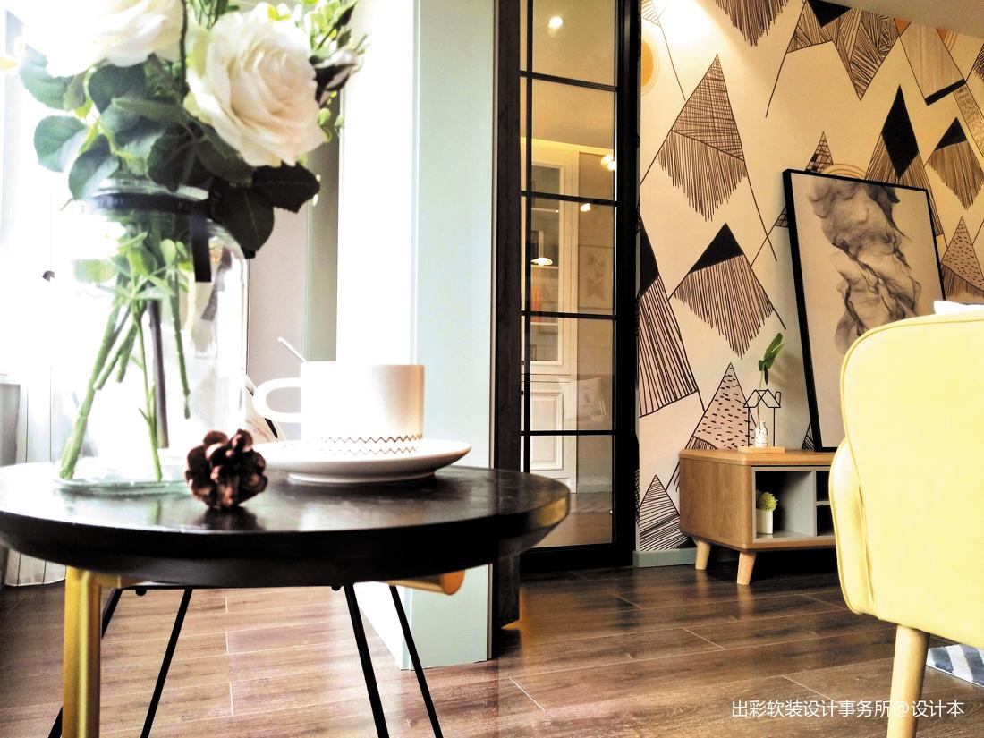 温馨299平北欧样板间客厅装修效果图