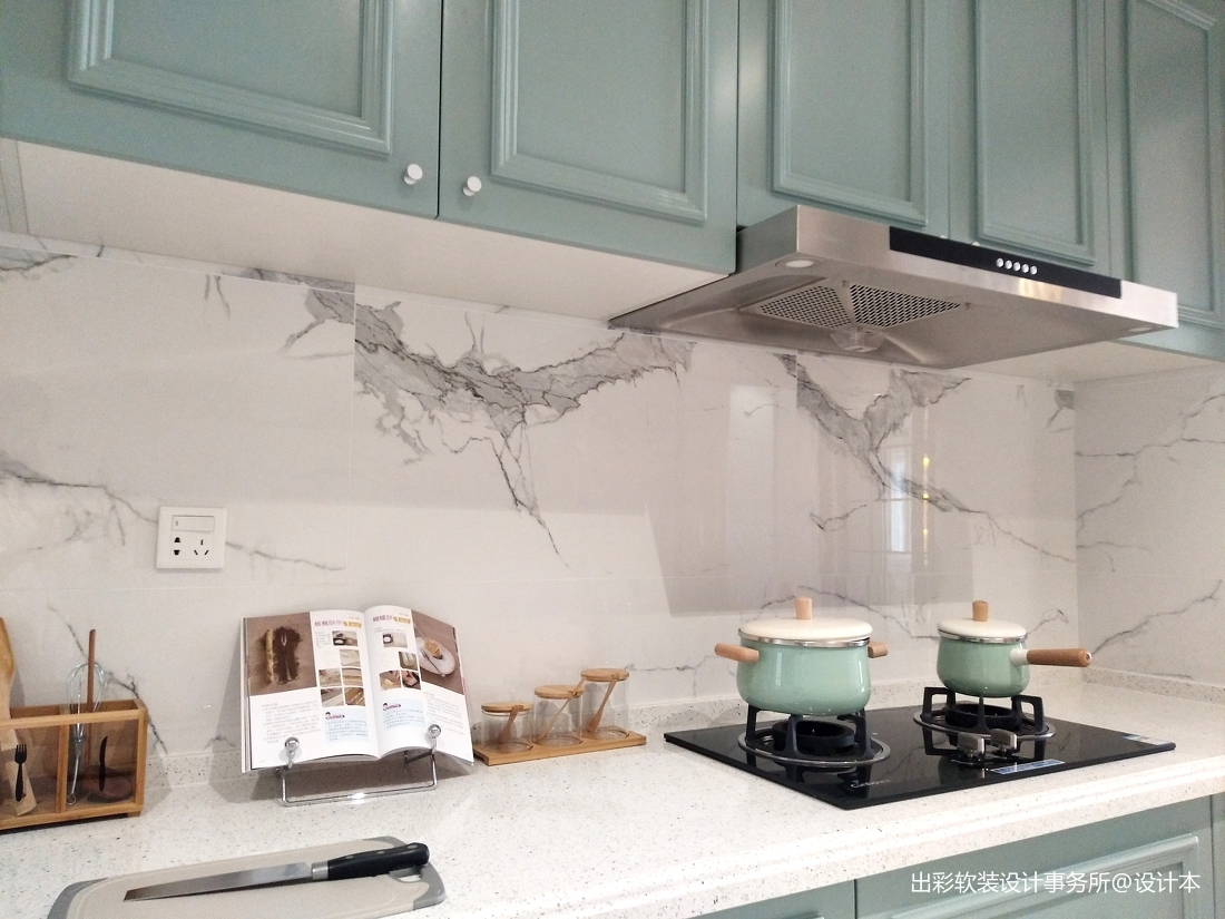 优雅308平北欧样板间厨房设计图