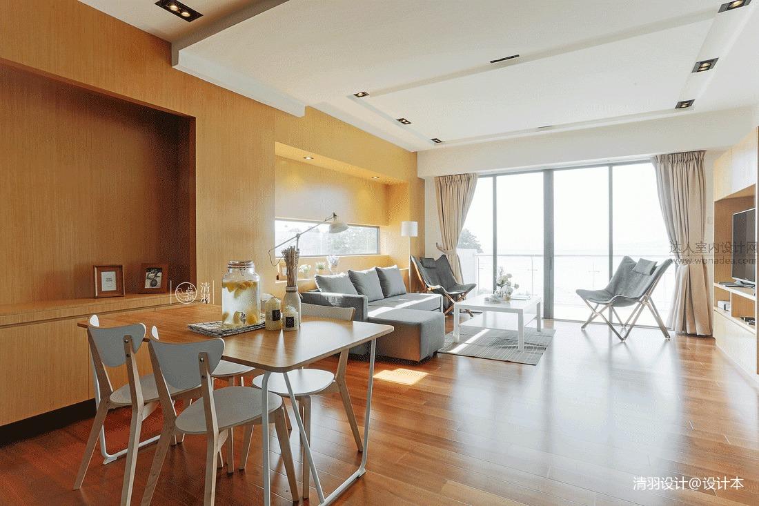 华丽22平混搭小户型客厅设计案例