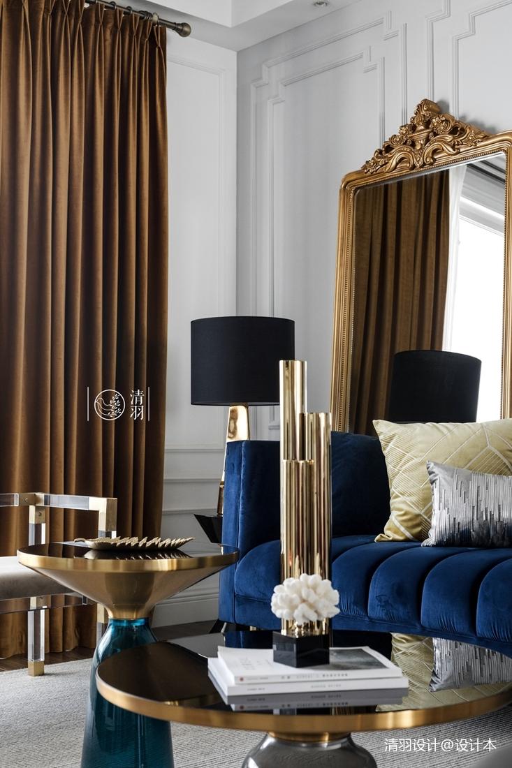 明亮29平法式小户型客厅图片大全