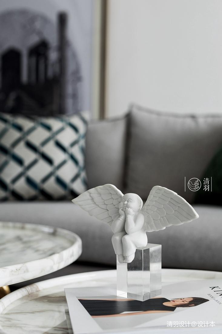 精致30平法式小戶型客廳裝飾圖片