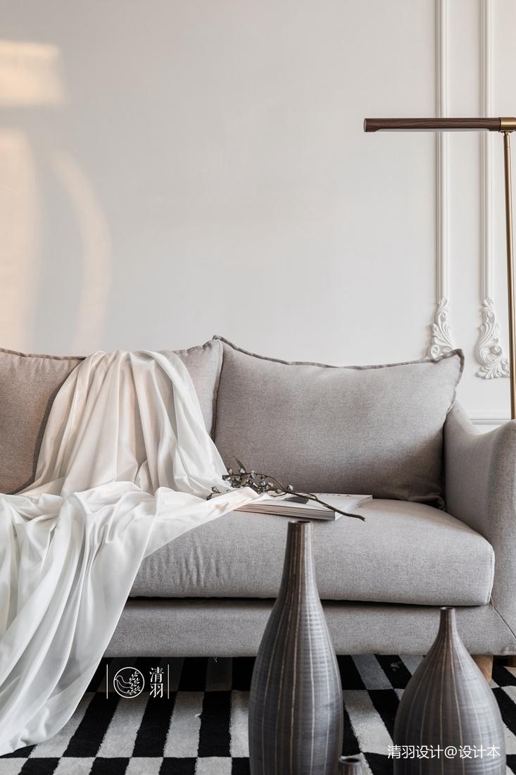 精致35平法式小戶型客廳裝修美圖