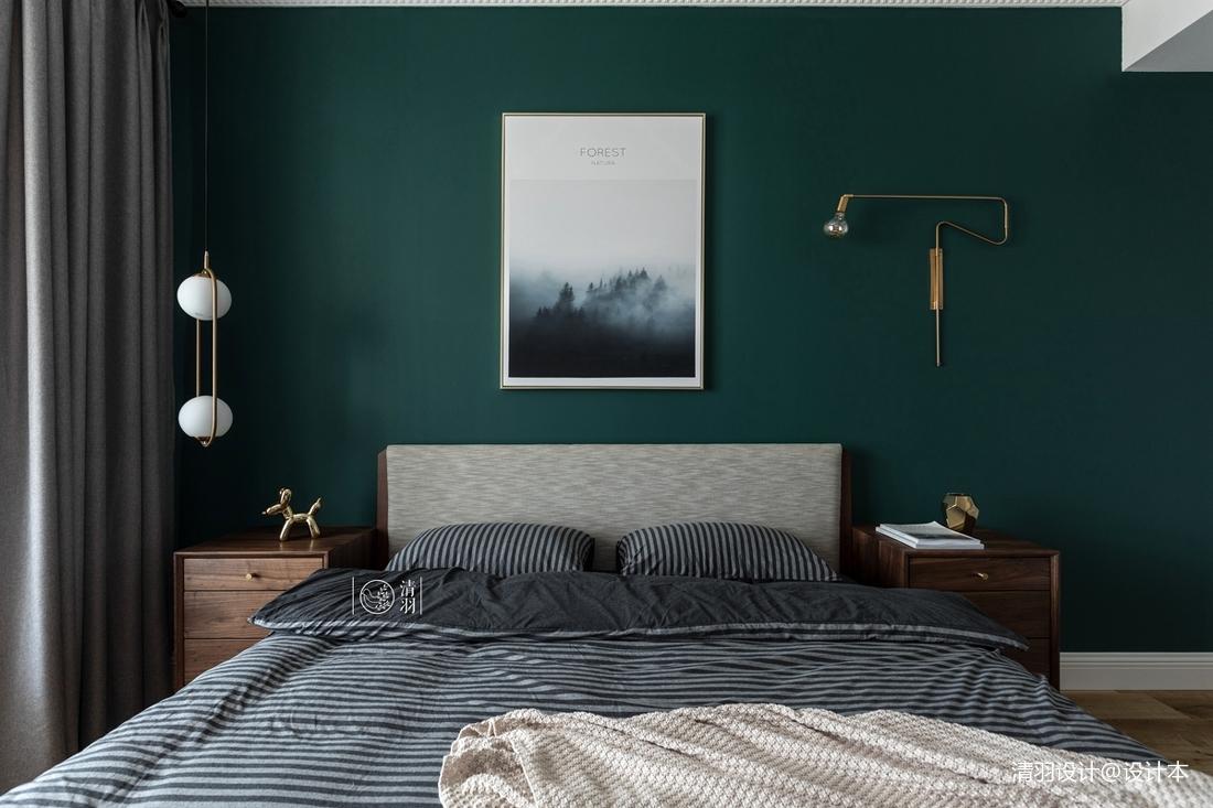 精美36平法式小户型卧室设计效果图