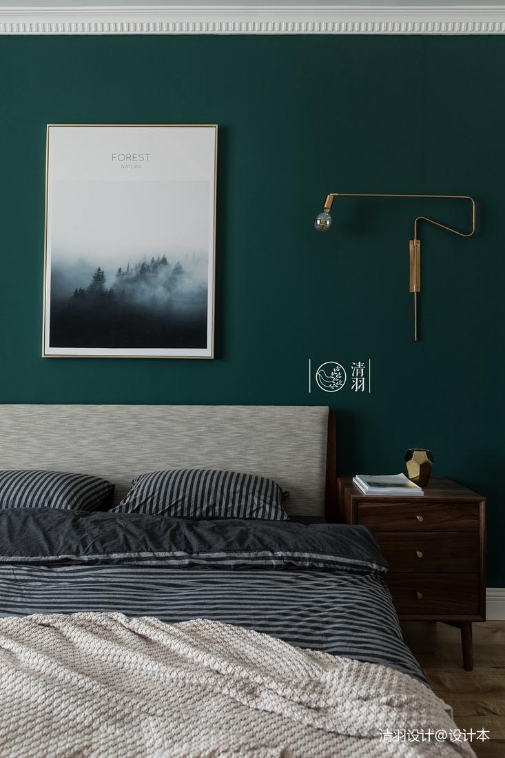 华丽28平法式小户型卧室设计美图