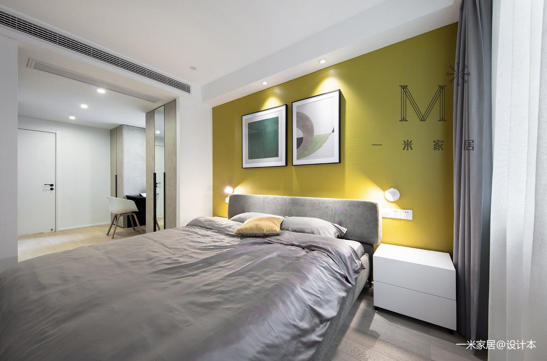 轻奢95平现代三居客厅美图