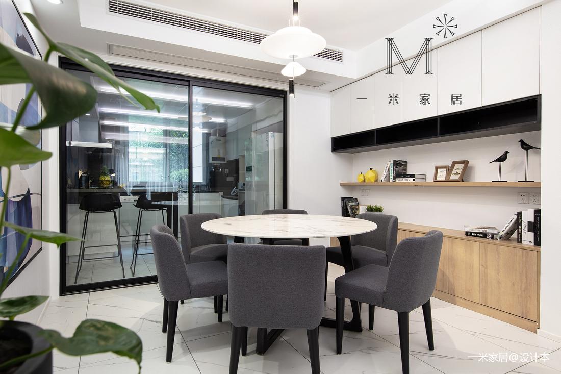 明亮91平现代三居客厅装潢图