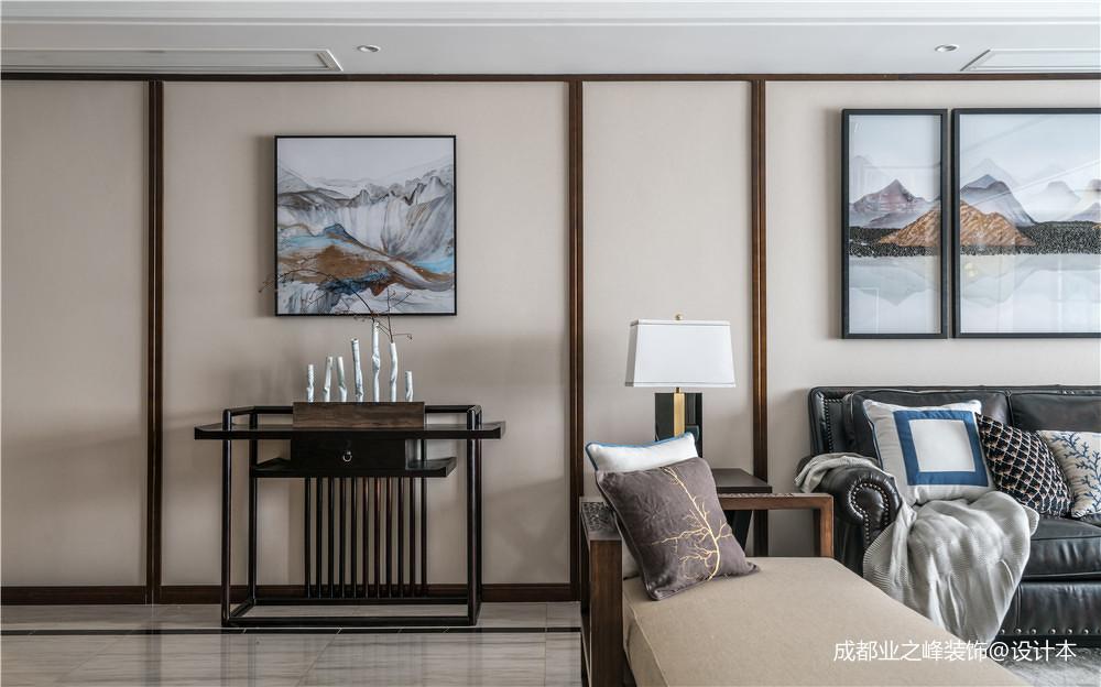 浪漫250平中式别墅客厅效果图欣赏