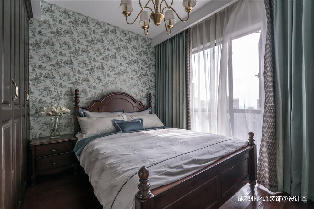 温馨214平中式别墅卧室装修美图