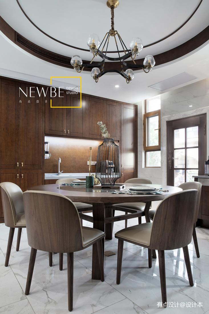 温馨575平中式别墅客厅装饰美图