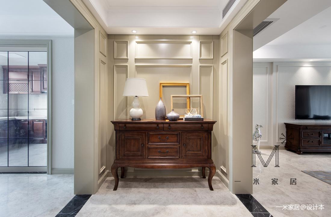 华丽107平美式四居客厅图片大全