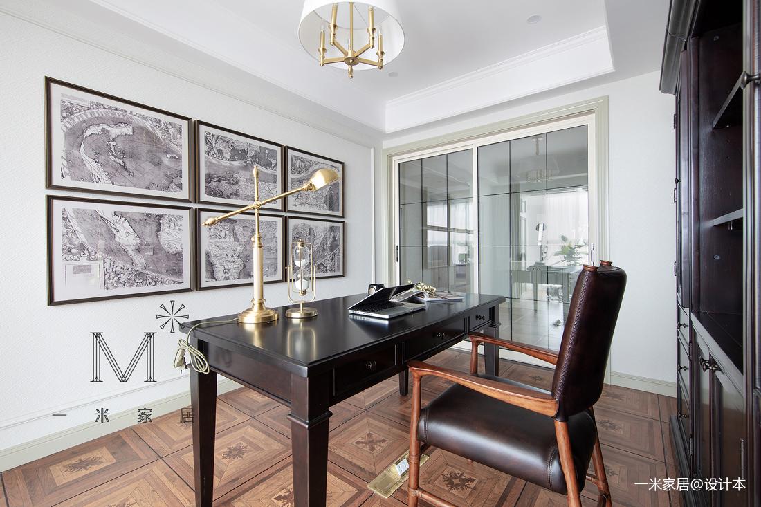 优美117平美式四居装修图
