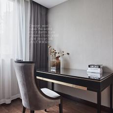 典雅390平中式别墅书房图片大全