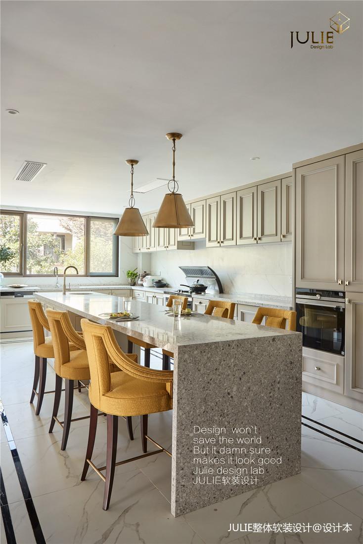 精致767平现代别墅厨房装饰图片