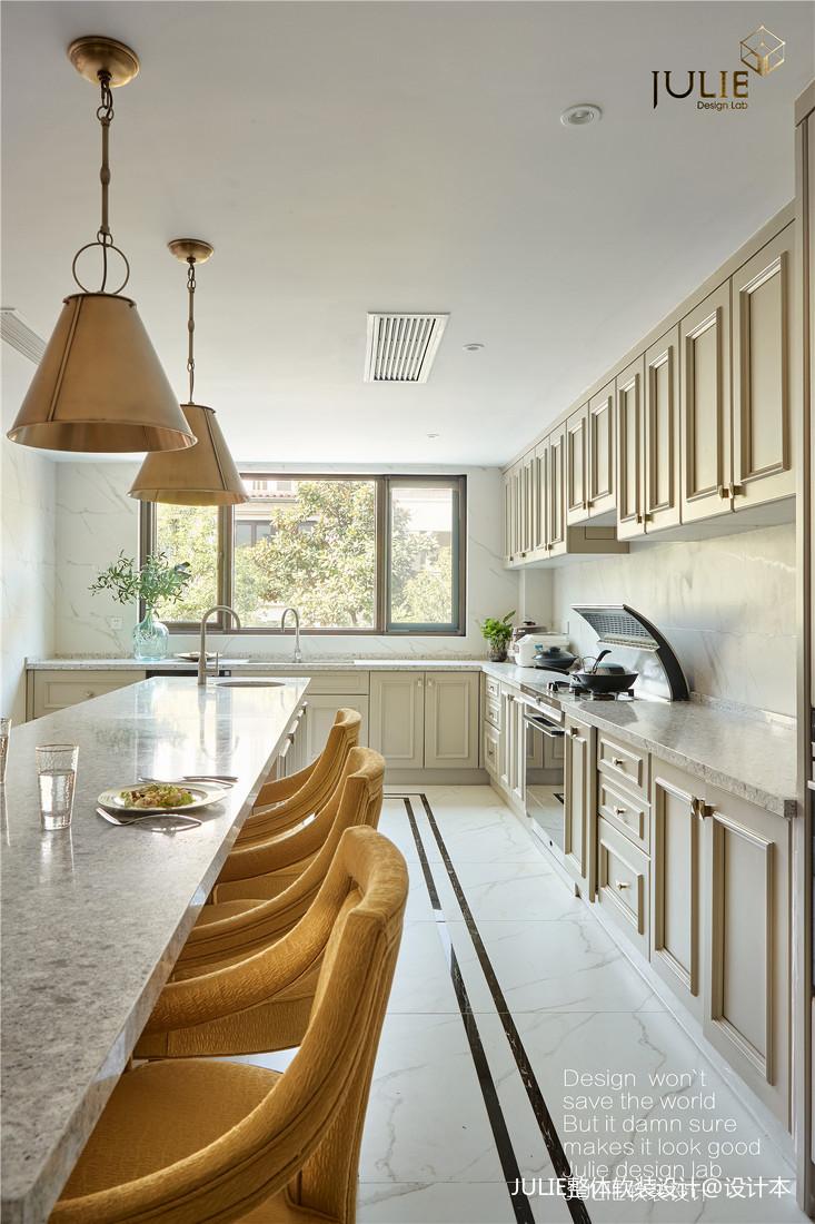 明亮880平现代别墅厨房效果图