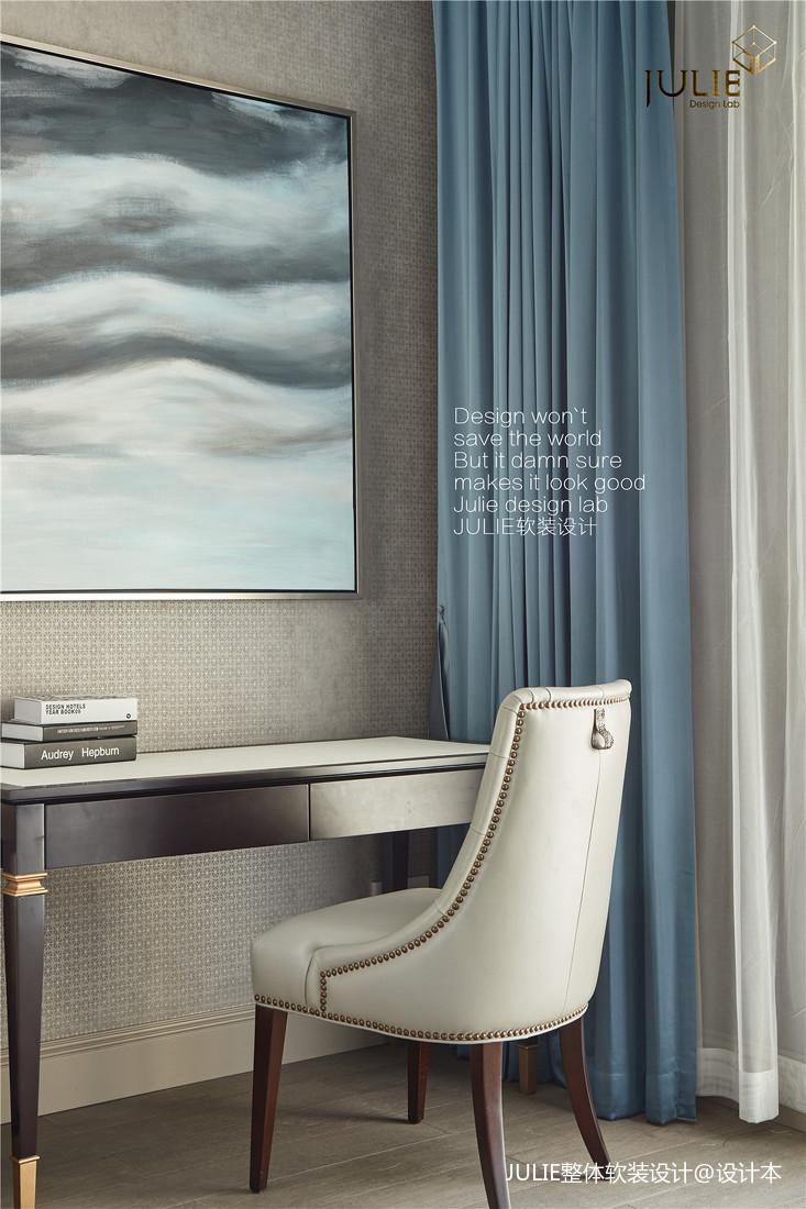 优美810平现代别墅卧室布置图