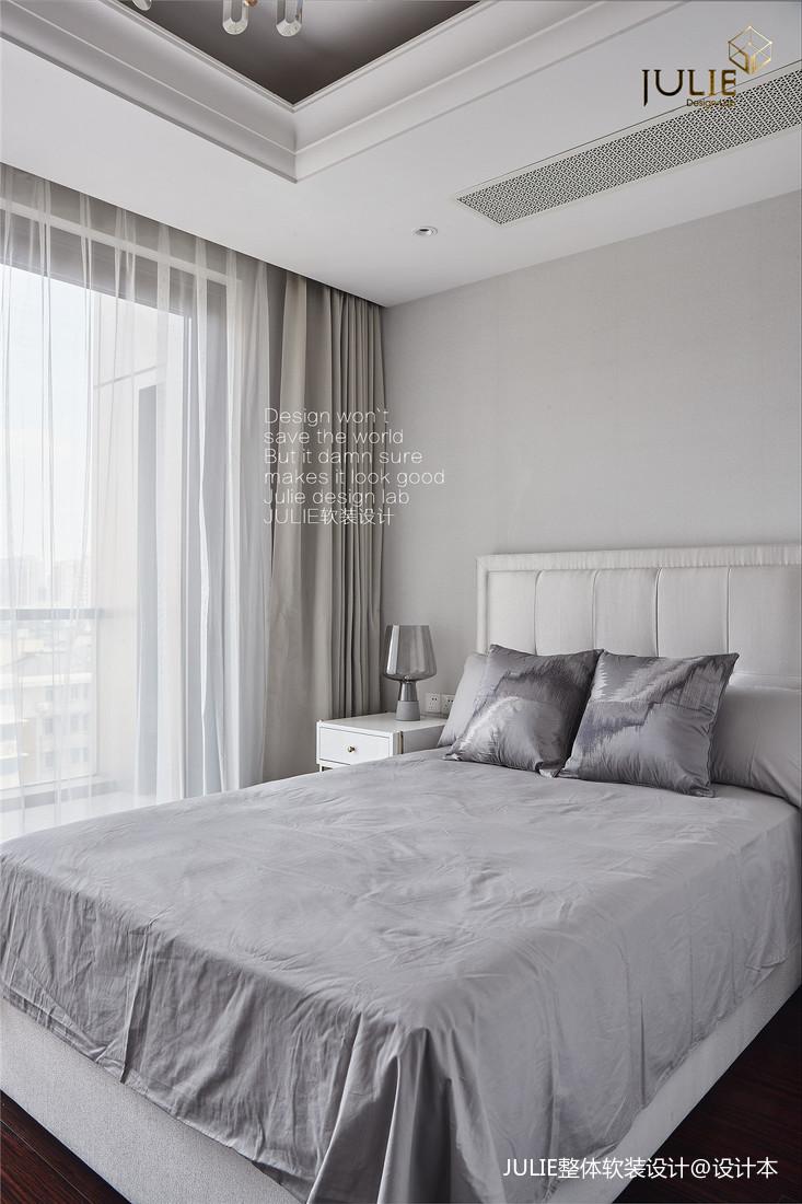 温馨84平美式复式卧室设计图