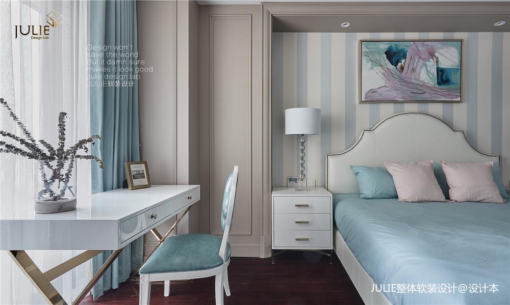 典雅46平美式复式儿童房装修案例