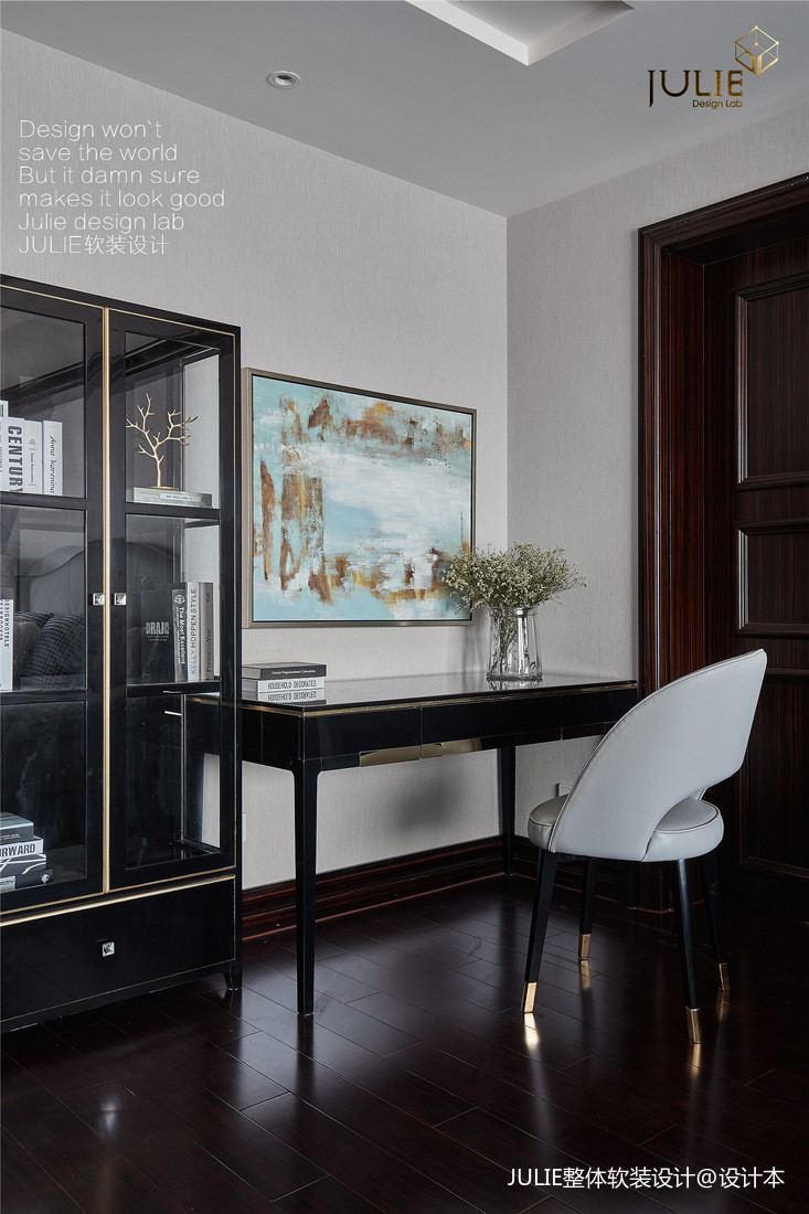 华丽51平美式复式卧室图片欣赏