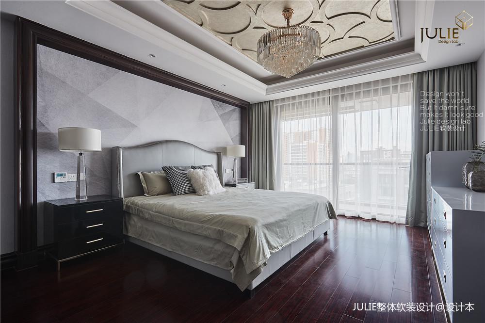 明亮55平美式复式卧室装修案例