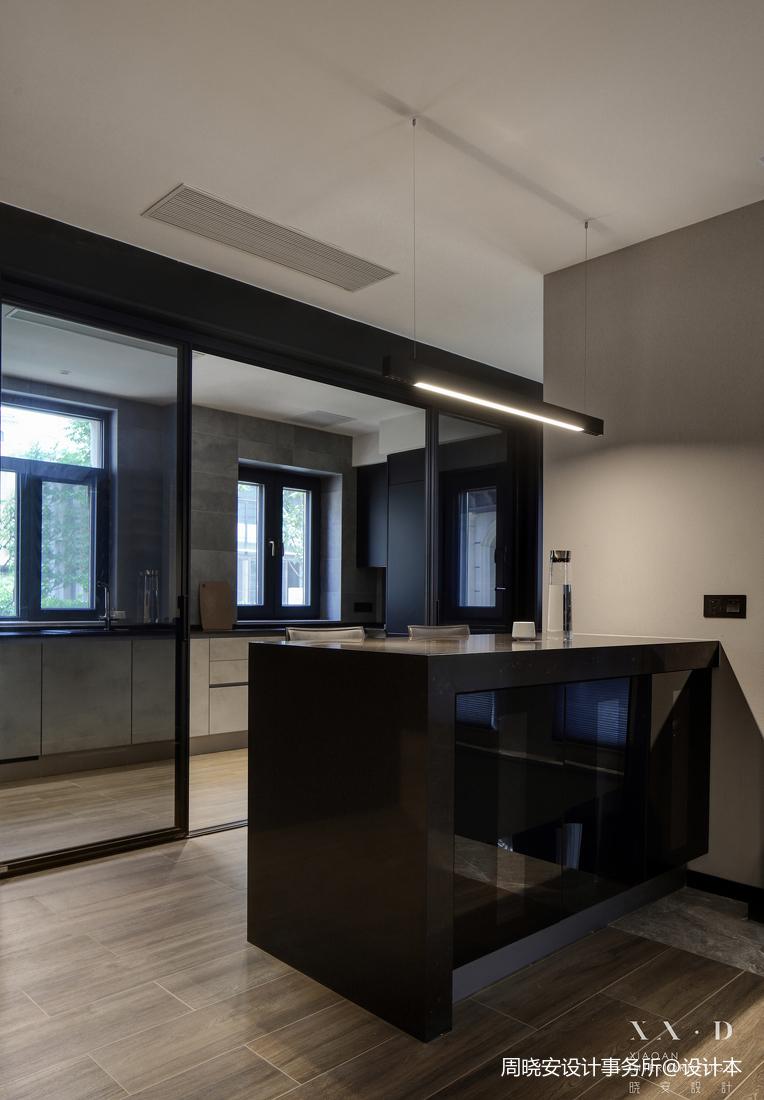 温馨858平现代别墅厨房装修图