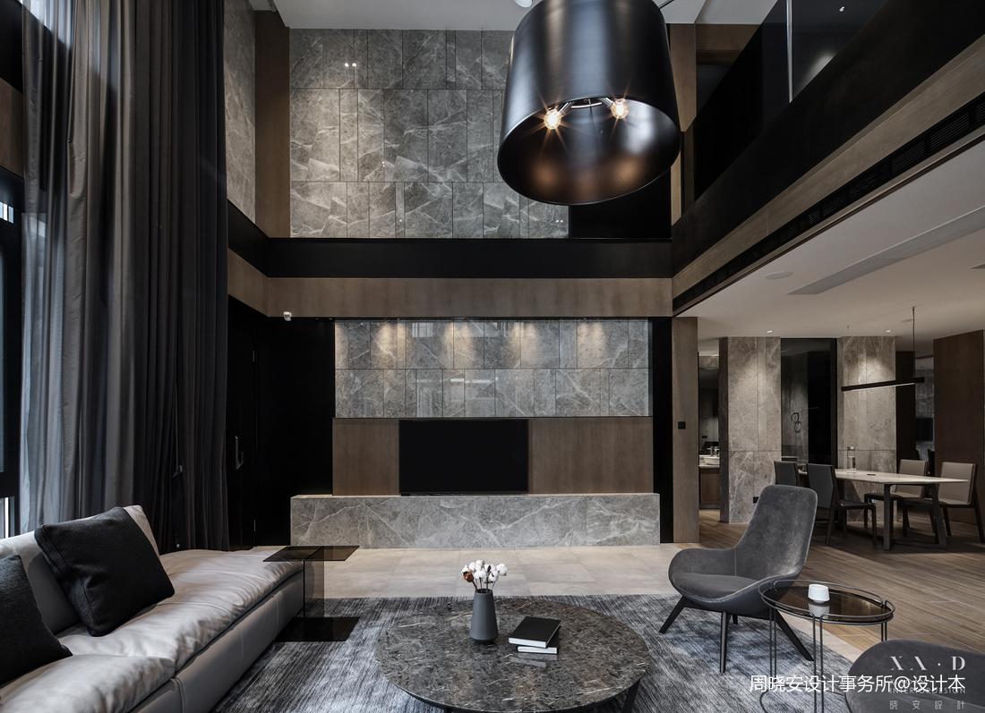 温馨850平现代别墅客厅装饰美图