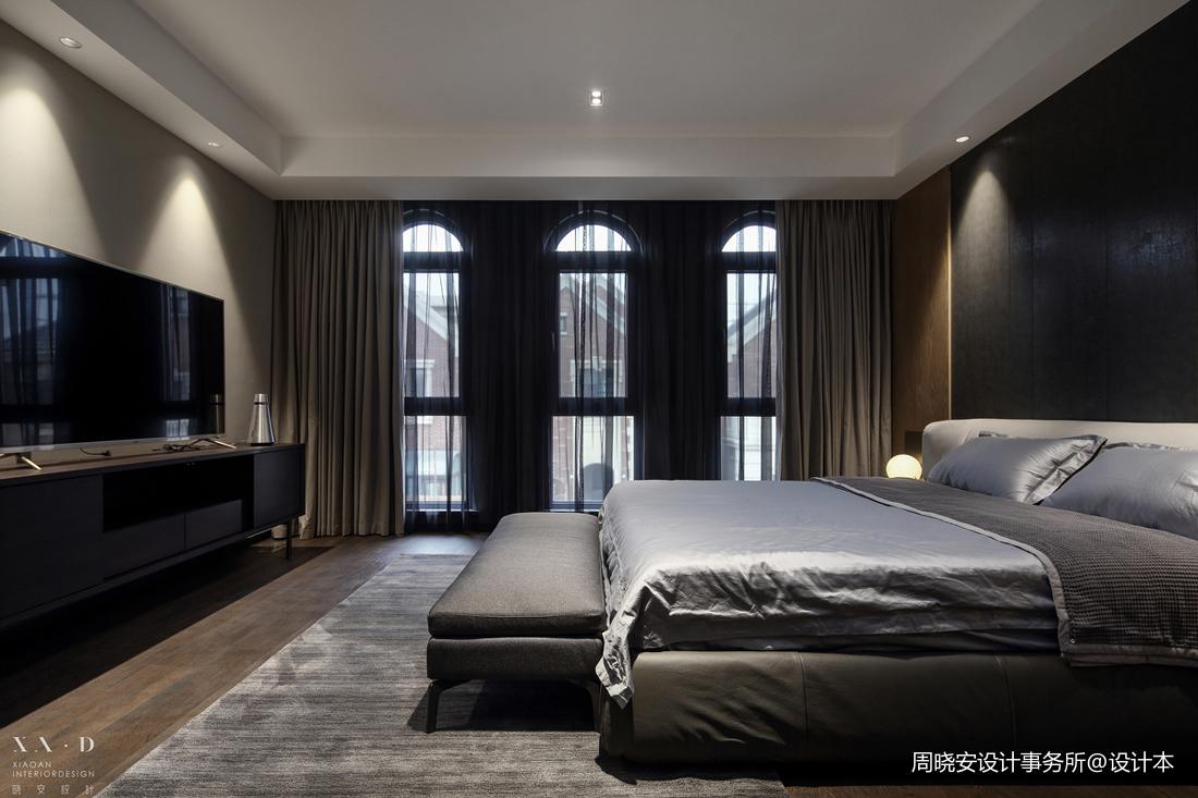 温馨539平现代别墅卧室装修美图