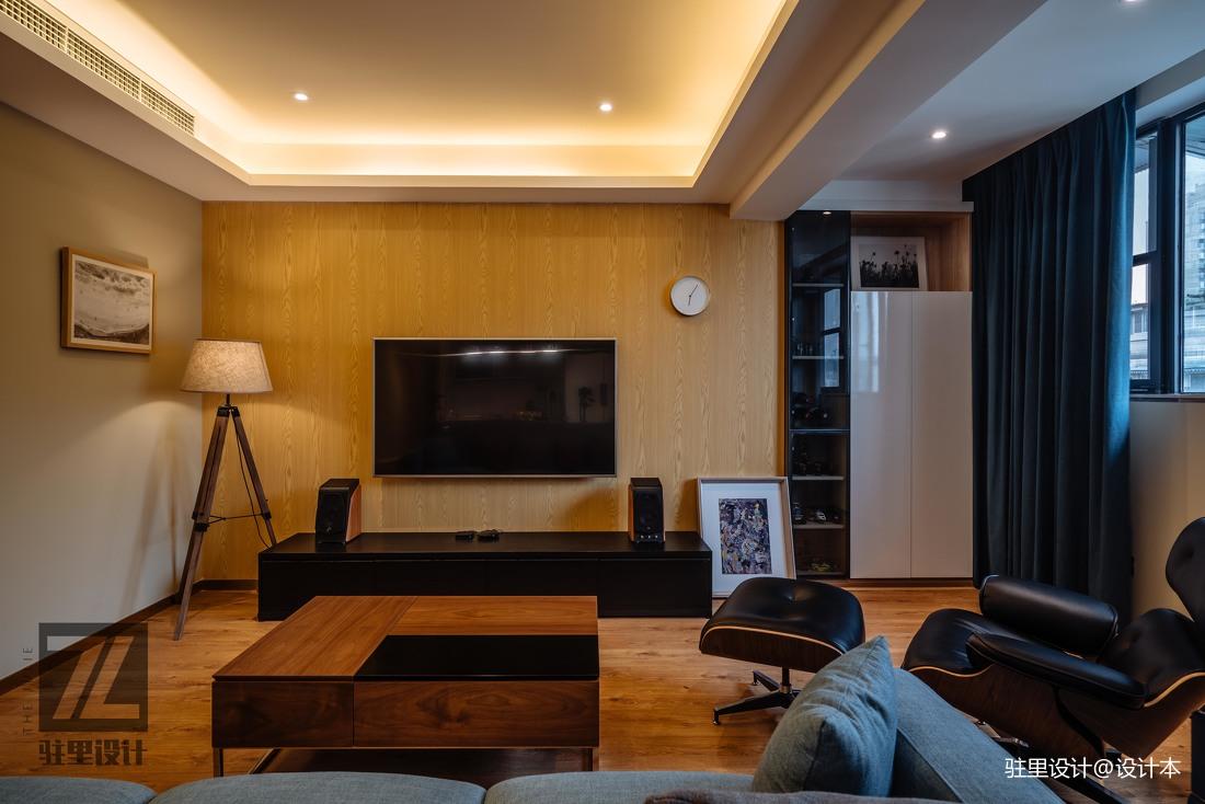 浪漫56平现代复式客厅效果图片大全