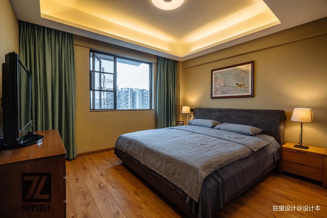 简洁69平现代复式卧室实景图片