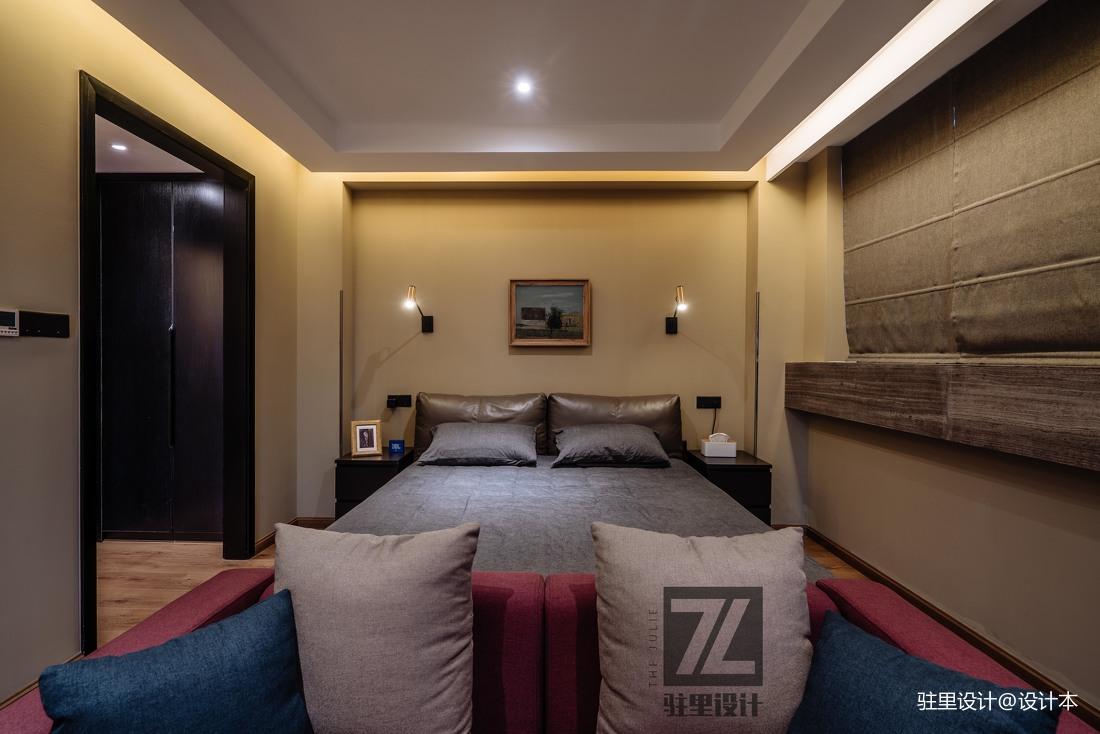 华丽71平现代复式卧室效果图欣赏