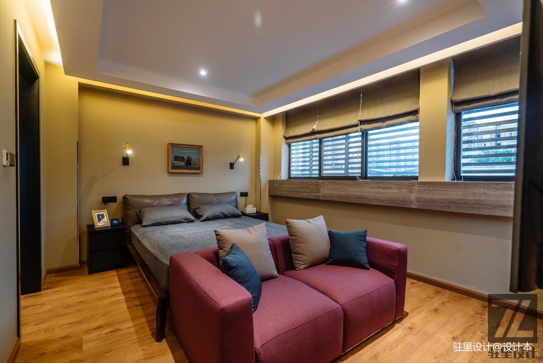 优美44平现代复式卧室装修装饰图