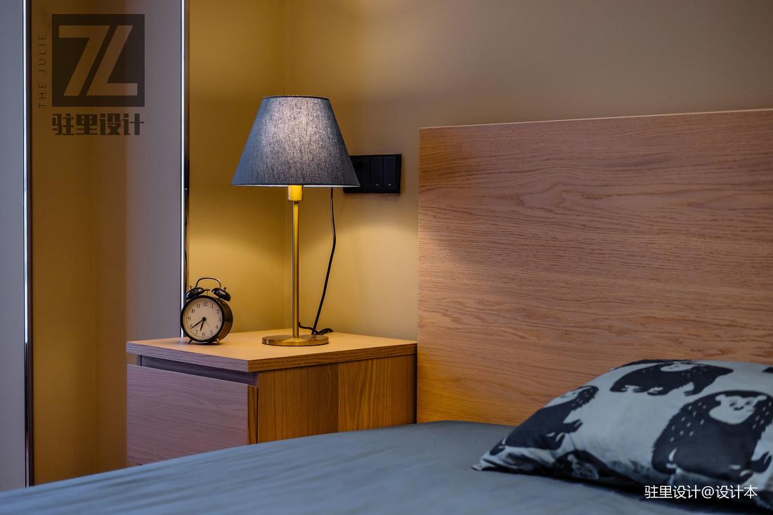 优雅62平现代复式卧室实景图片