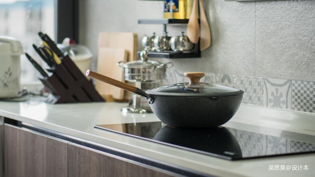 优美32平混搭小户型厨房设计图