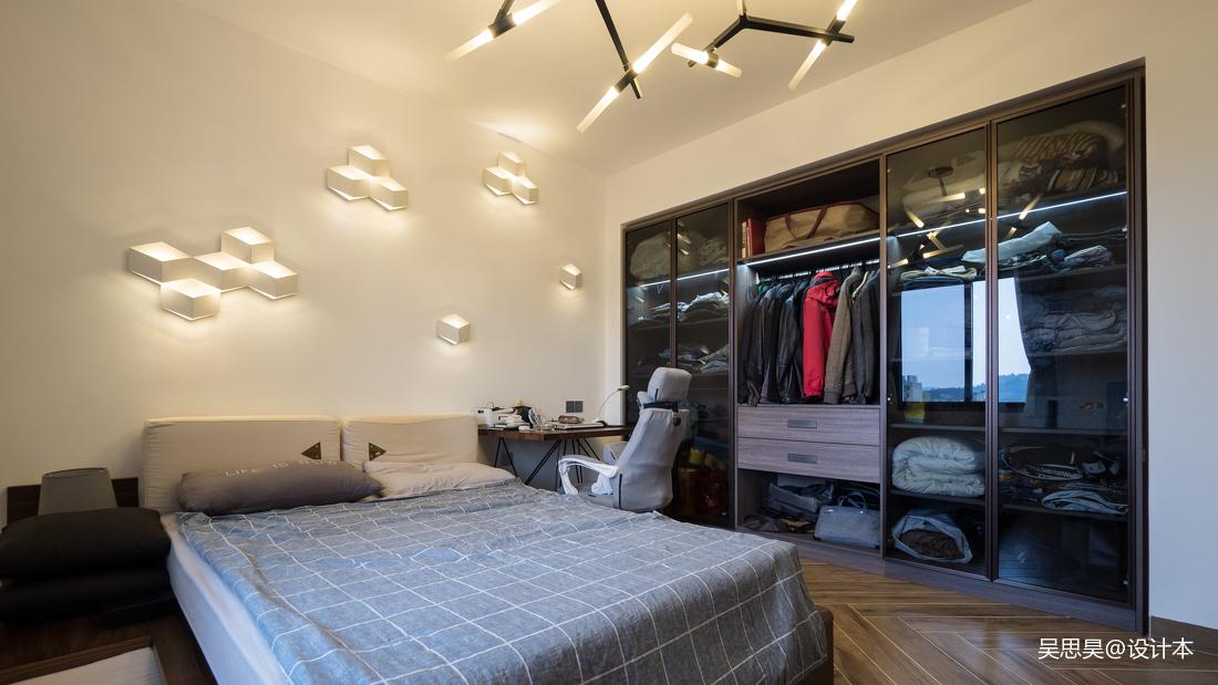 典雅20平混搭小户型卧室装修案例