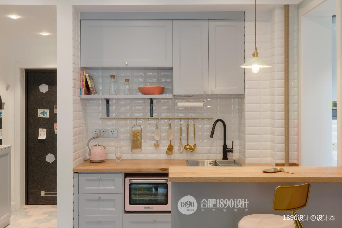 典雅24平北欧小户型厨房效果图