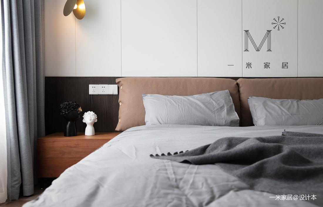 简洁93平现代三居装修图片