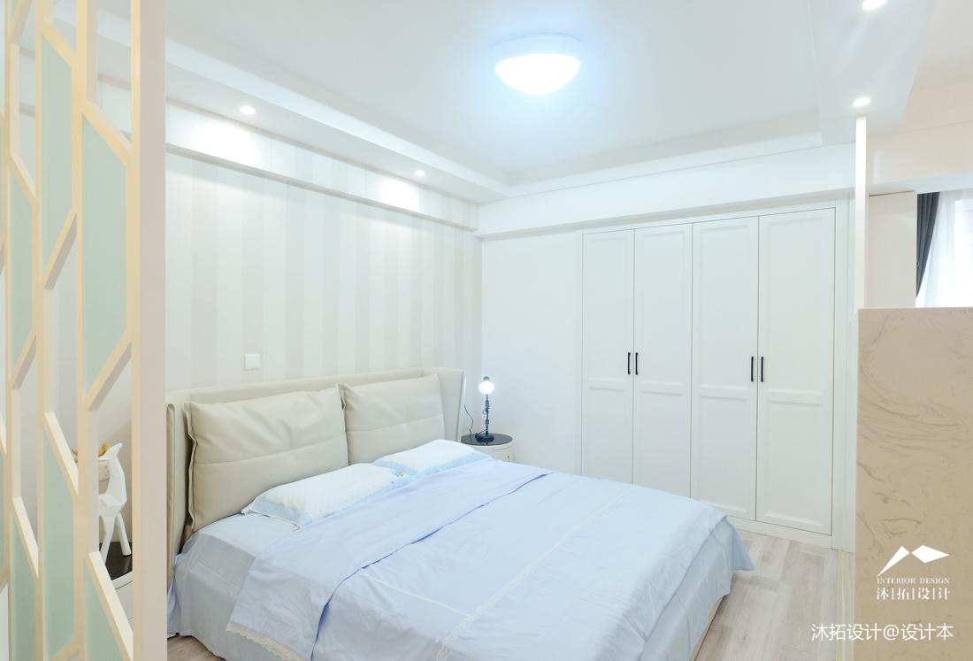 浪漫21平现代小户型卧室效果图欣赏