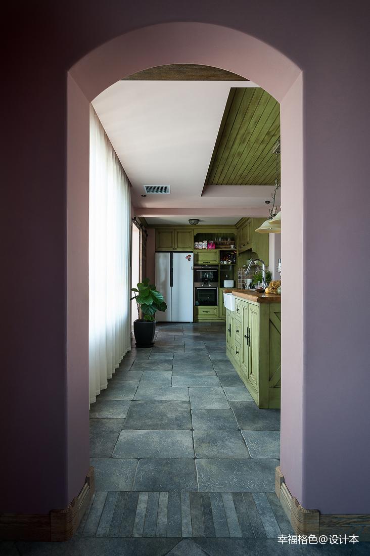 質樸54平法式復式廚房設計美圖