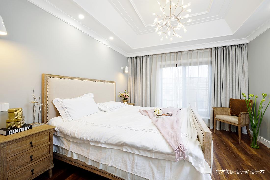 溫暖的美式風格別墅臥室設計