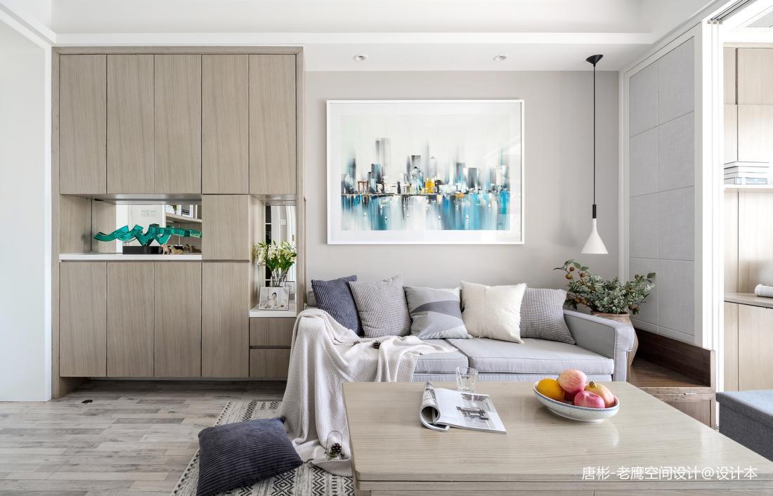 質樸26平簡約小戶型客廳裝修美圖