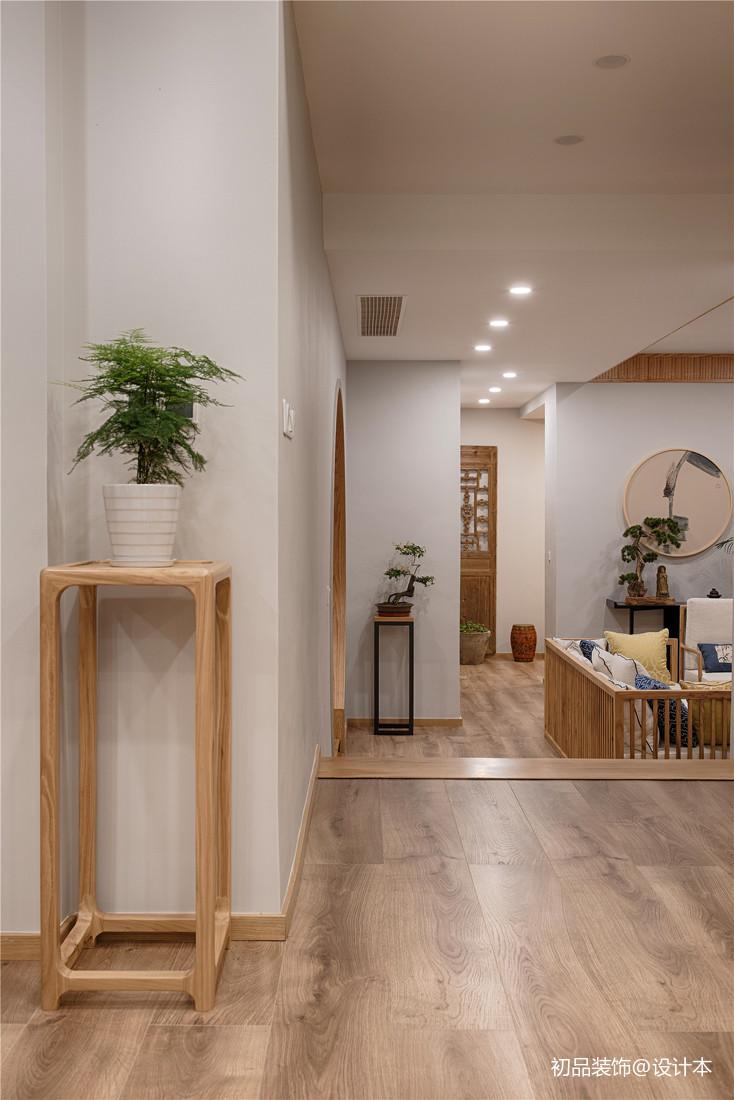 优雅80平中式复式客厅美图