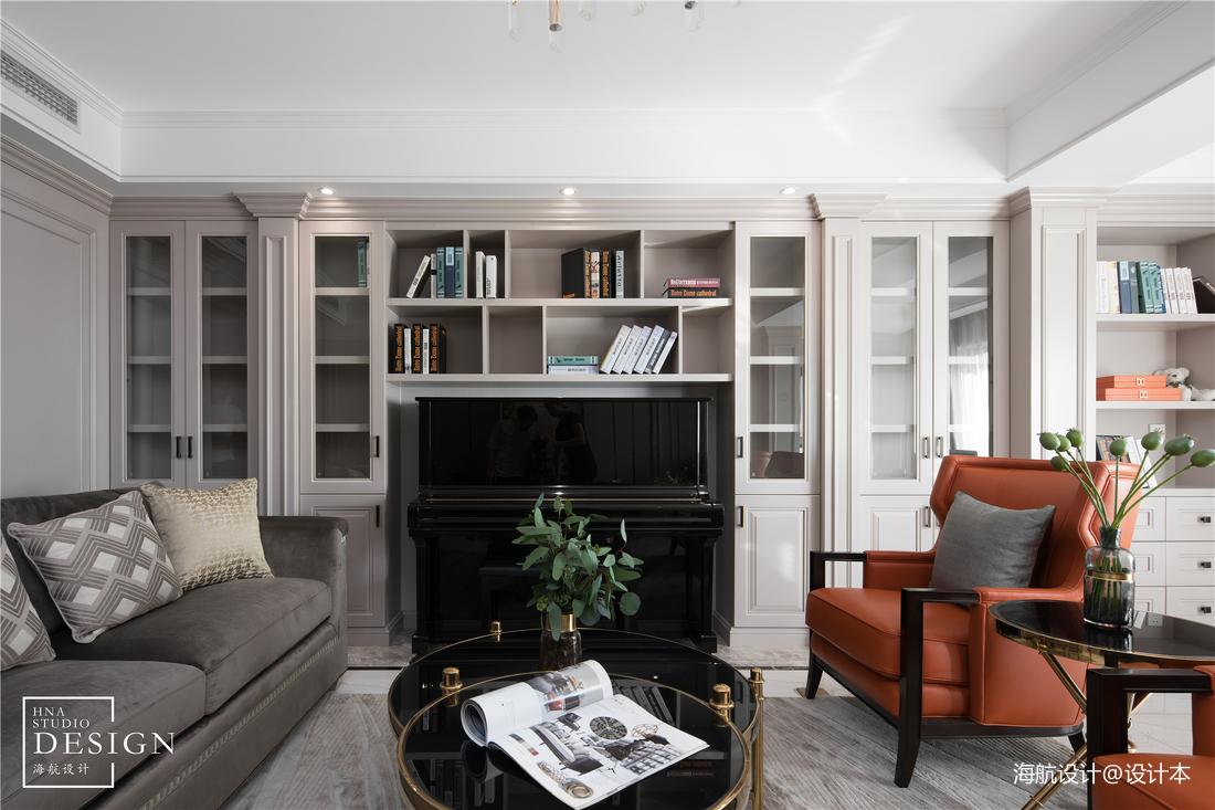 精美77平美式三居客厅设计美图