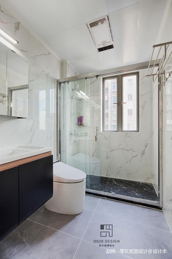 舒适的中式四居室卫浴设计