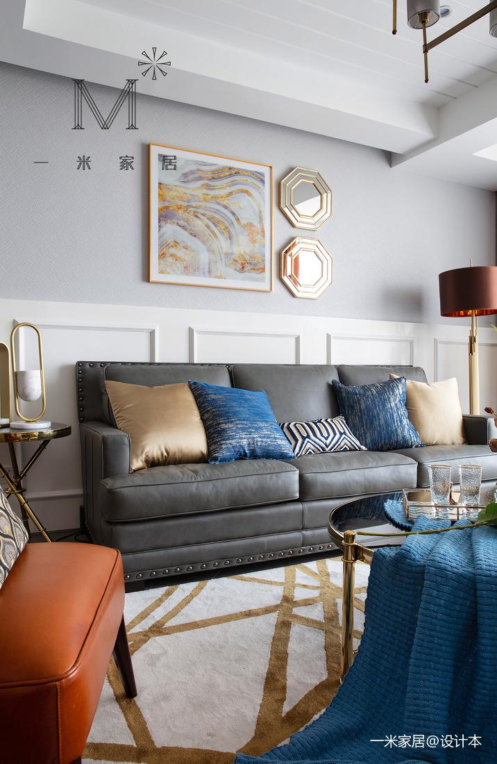 精美62平美式二居装修图片