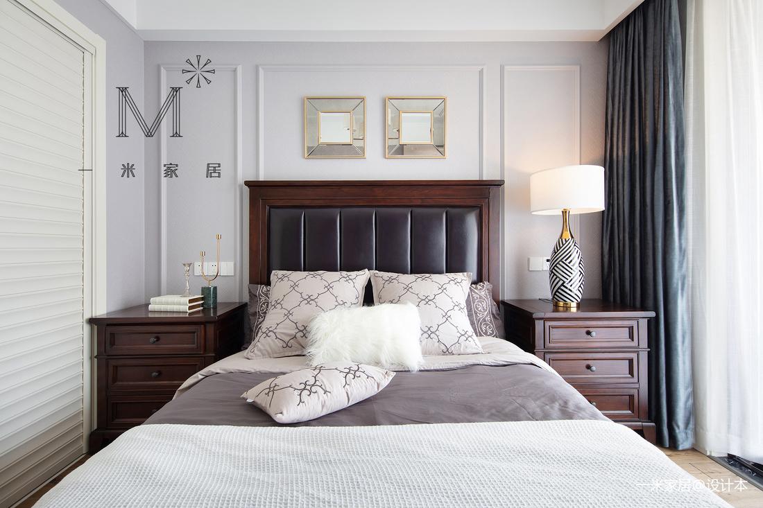 明亮72平美式二居客厅装修设计图